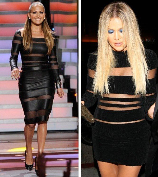e04dcd47d2 Khloé Kardashian se puso este mini vestido con transparencias de Balmain  para la fiesta de cumpleaños