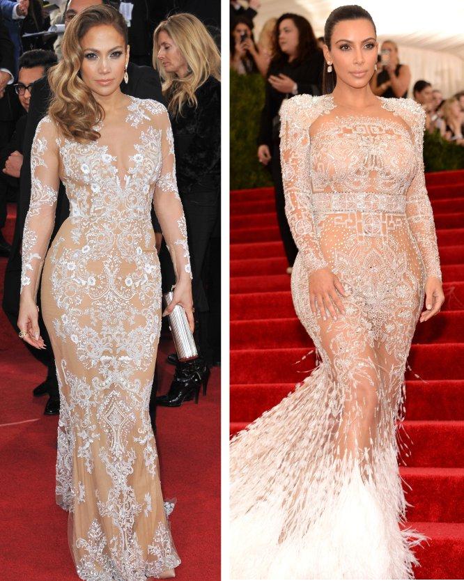 5b443590df Kim Kardashian siempre ha declarado abiertamente que Jennifer Lopez es uno  de sus ídolos. No