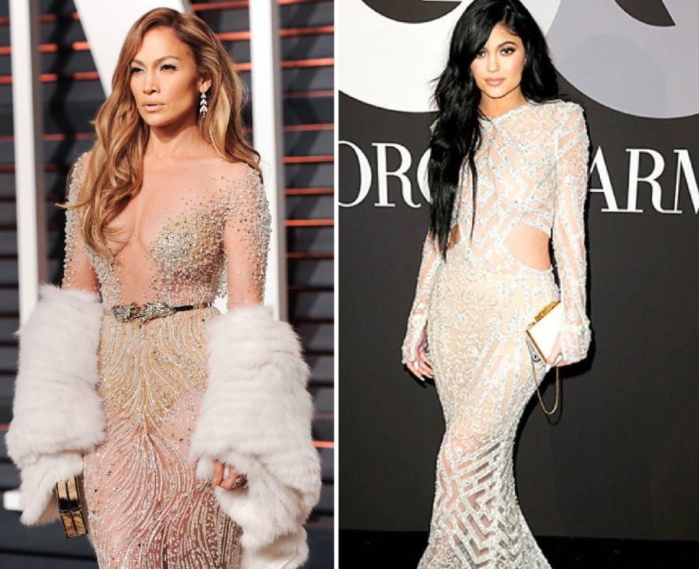 b39185f6c5 Pero Kim no es la única de las Kardashian que se inspira en el vestuario de