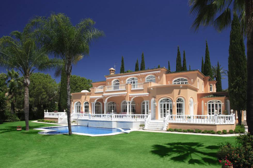 The marbella property formerly owned by prince