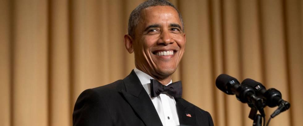 Obama asiste a su última cena de corresponsales, la \'nerd prom\' de ...