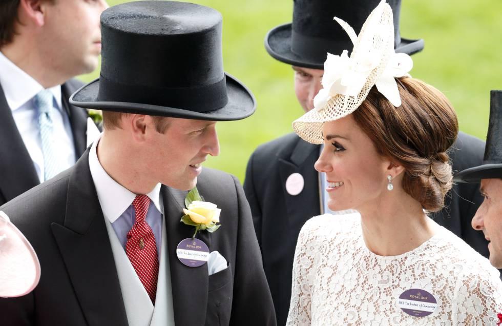 548742e0c915c Los duques de Cambridge fueron los dos grandes protagonistas del segundo  día de Ascot.