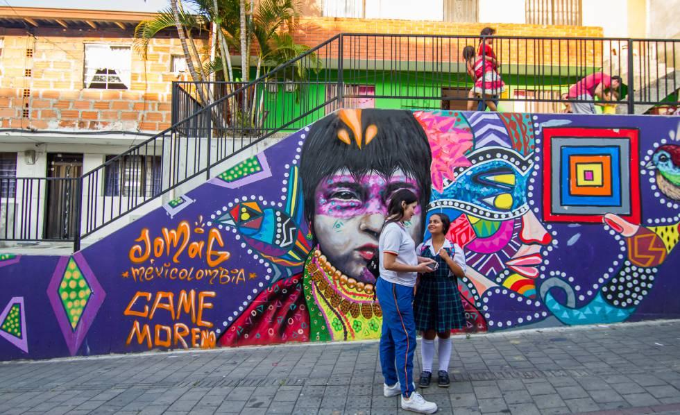 Medellin Casa Kolacho La violencia se cura con hip hop  Planeta