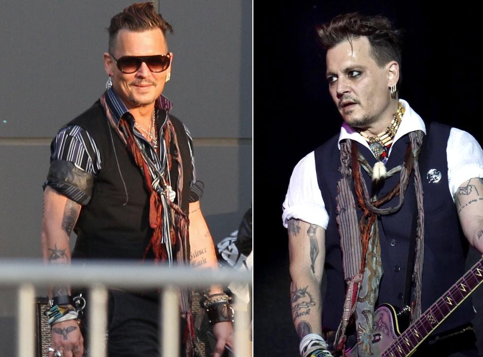 Johnny Depp Borra En Su Cuerpo El Rastro De Amber Heard Estilo