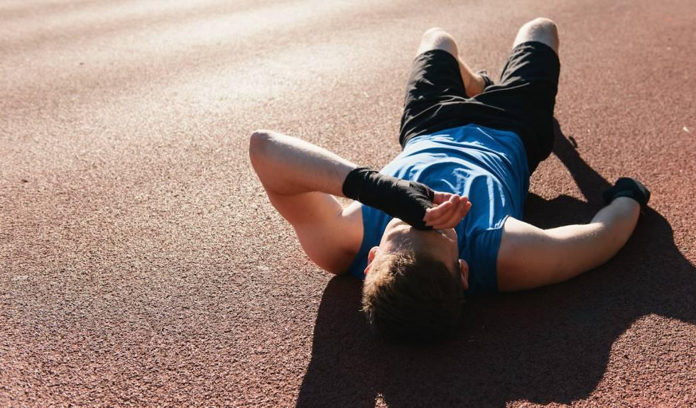 Las correr pantorrillas de días dolor durante en después