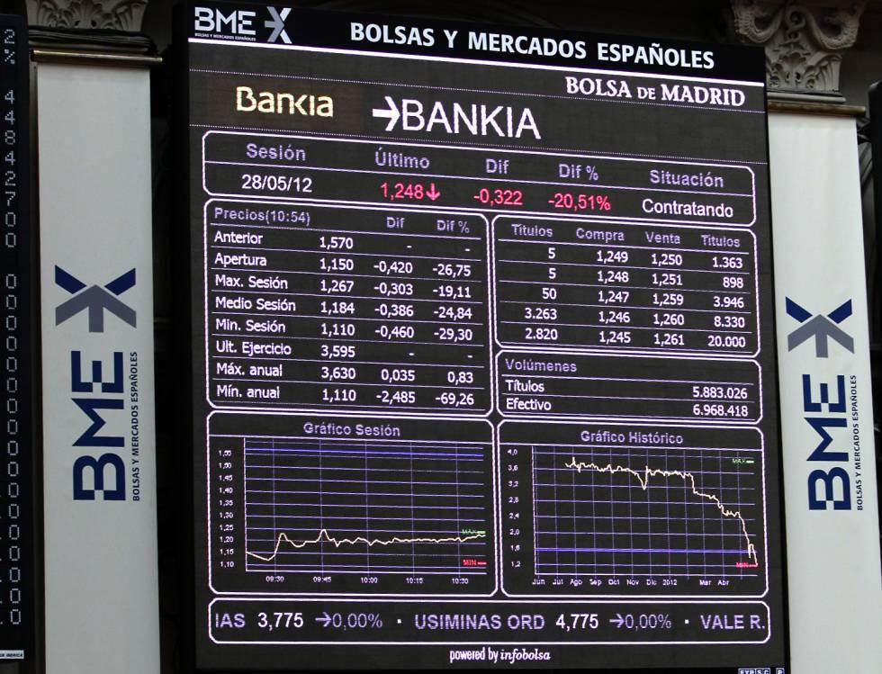 Bankia El Crisis Supervisor Y Opinión La País En De Bankia Gobierno rwRrqxCzA