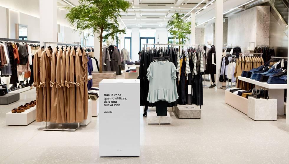 Resultado de imagen para zara ropa sostenible
