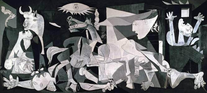 """""""Puede ser que lo que impacte a un adolescencia sea el horror que transmite esta obra maestra de Picasso. Pero entre los gritos y llantos de los personajes y la desesperación que respira tanto por su composición como por los colores, aparecen símbolos de esperanza"""", comenta Julio Pérez Manzanares, historiador del arte. Más que una referencia a un ataque salvaje, 'Guernica' es un alegato contra la crueldad de las guerras, contra la ignominia. Por eso no importa que trate la contienda española del 36 o el actual cerco de Alepo. El efecto y la denuncia perduran, lamentablemente, lo contemple quien lo contemple."""