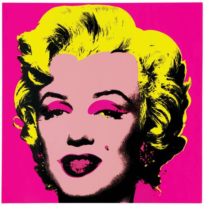 Esto, chicos y chicas, es una obra maestra. Pop, pero arte, al fin y al cabo. Colores, famosos, serpentina. Ascender al olimpo cultural lo que siempre ha sido desdeñado por pertenecer al pueblo soberano. Introducir en el arte supremo personajes de la televisión, actrices del cine de masas, canciones de ritmos pegadizos. Y Andy Warhol lo trasladó al lienzo en serigrafías, óleos y fotografías. El artista estadounidense se empeñó en desacralizar la pintura, el cine o la escultura y adaptarla a las demandas de la sociedad consumista. Sentarse frente a esta explosión fosforita con el rostro de Marilyn Monroe es, lo primero, reconocer la belleza del mito.