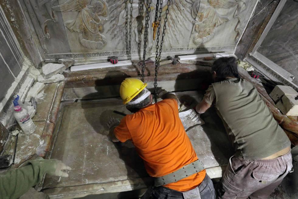 Fotos El Sepulcro De Jesucristo En Imágenes Internacional El País