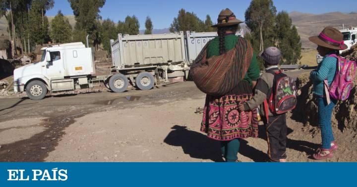 b07bd7ab Minería en Perú: Indígenas peruanos sofocados por el polvo | Planeta Futuro  | EL PAÍS
