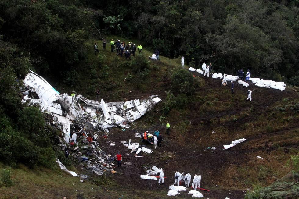 Fotos: El accidente de avión del Chapecoense en Colombia ...
