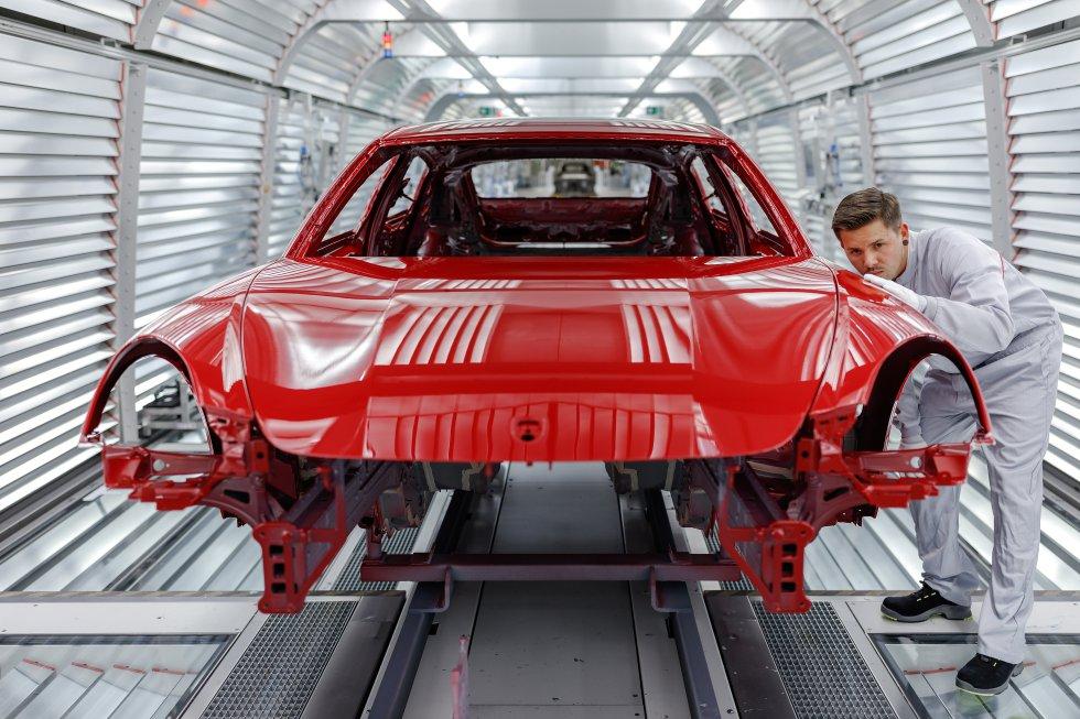 Fotos: Leipzig 4.0, la fábrica de los sueños de Porsche   Motor   EL ...