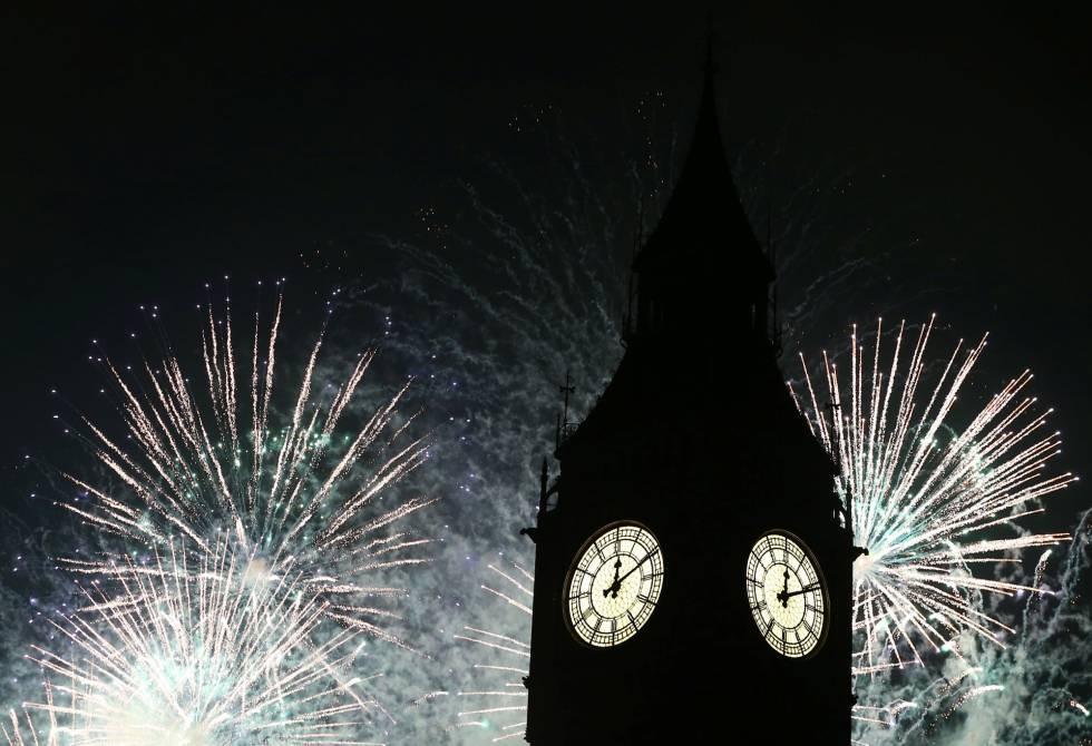 Fotos Fin De Año 2016 Así Celebramos El Año Nuevo 2017 Actualidad El País