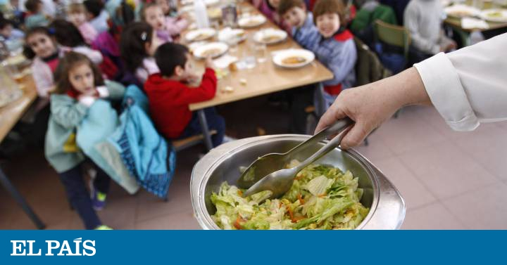 Educar en nutrición desde el comedor escolar | Mamás y Papás | EL PAÍS