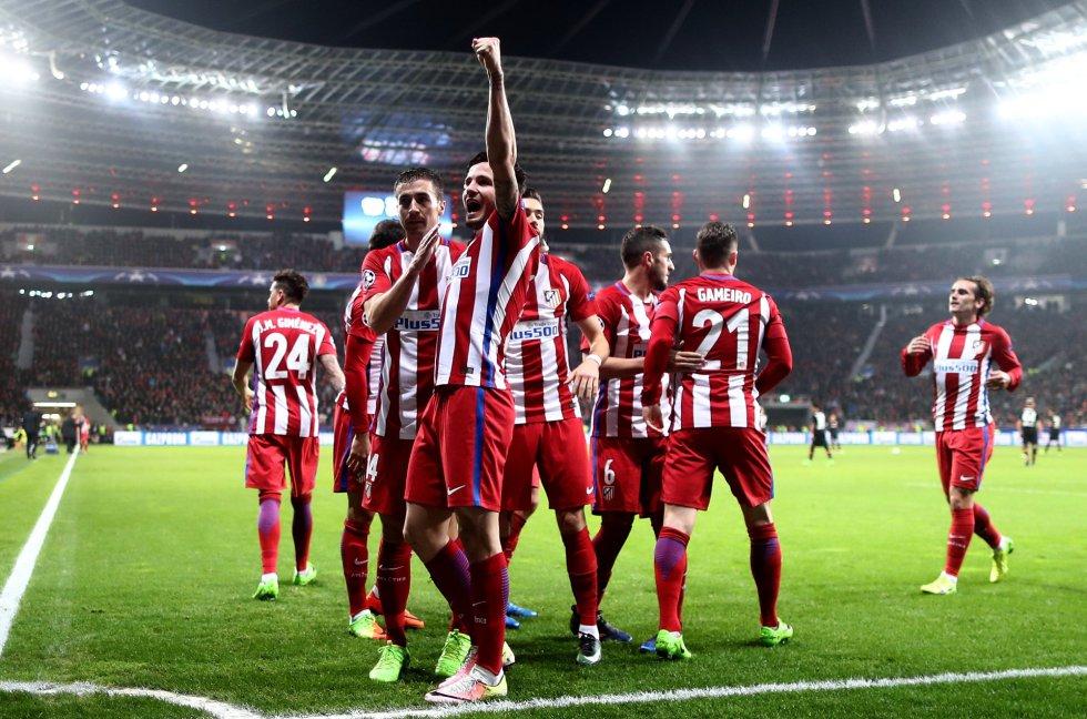 Fotos  Las mejores imágenes del Bayer Leverkusen - Atlético de ... d40e4fc8f11f8