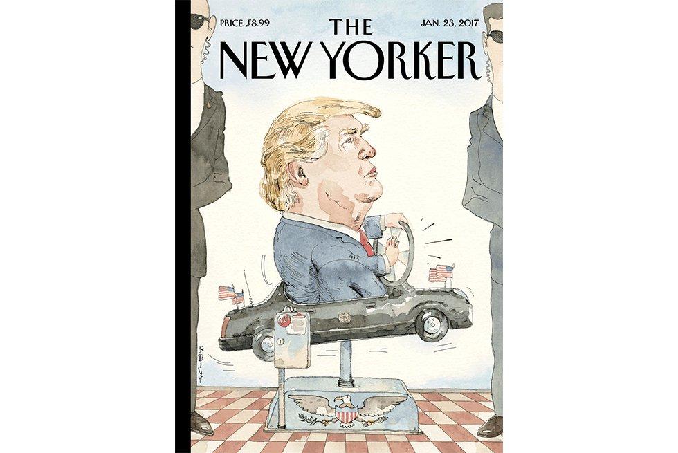 Fotos  Portadas sobre Donald Trump de la revista The New Yorker ... 0ea7e681c9b