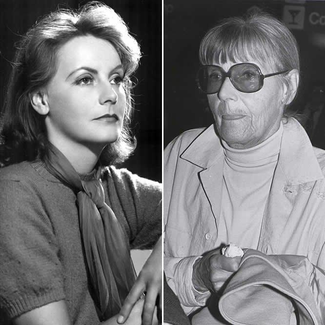 Fotorreportagem 11 celebridades que escolheram ser como for Greta garbo morte