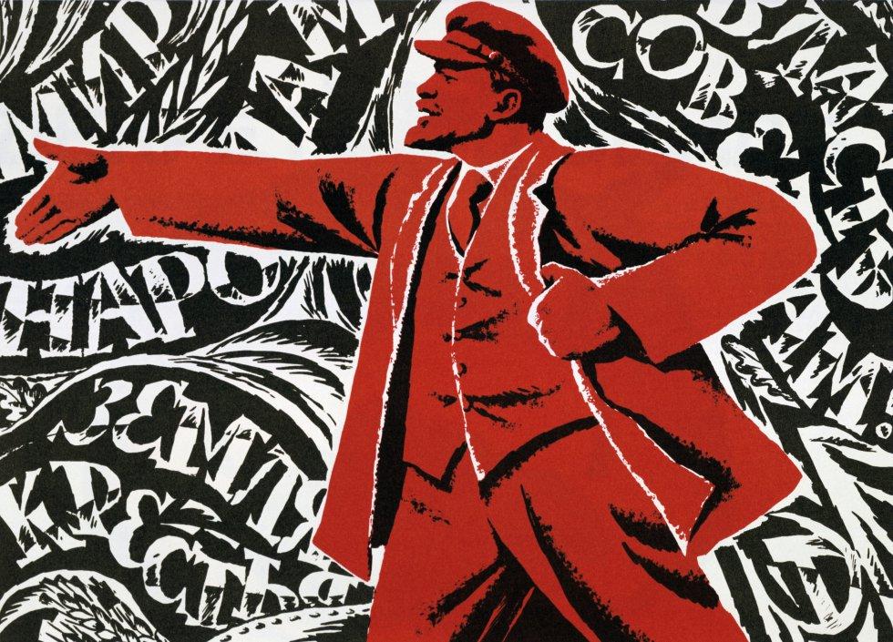 Imagini pentru cartel revolucion rusa