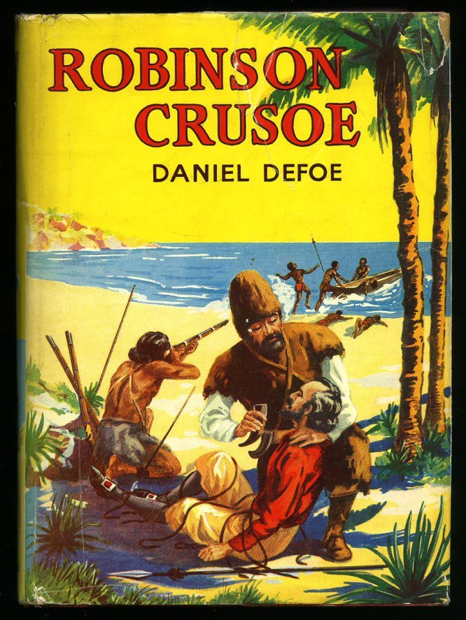 """""""Robinson Crusoe', de Daniel Defoe (1719) es la primera demostración en la literatura del poder del optimismo para dar la vuelta a una vida"""", escriben las biblioterapeutas. Crusoe se ve en la difícil situación de ser el único superviviente de un naufragio, preso para siempre en una isla remota. Aun así, el héroe no se deja vencer por la adversidad y trata de sobrevivir de la mejor manera que puede: solo conserva una navaja, una pipa y una caja de tabaco. Hace una lista de los pros y contras de su situación y encuentra que, más o menos, las ventajas se equilibran con las desventajas. Se convierte en un maestro de la supervivencia y aguanta en la isla la friolera de 28 años. """"El éxito en la vida se consigue encontrando tus recursos internos, sobre todo en momentos difíciles. Con un poco de optimismo a mano, casi no importa lo que ocurra. Mantén a Crusoe a tu lado""""."""