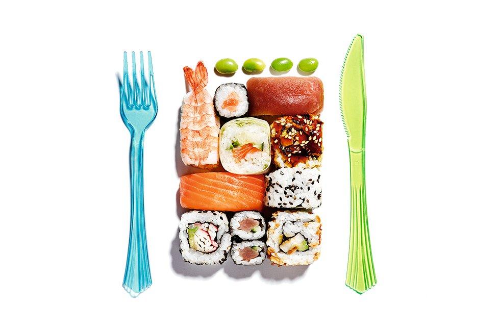 Fotorrelato: Cada vez que empapa el \'sashimi\' en la soja, un japonés ...