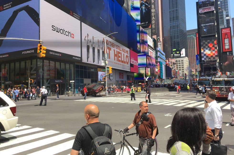 Resultado de imagen de nueva york atropello