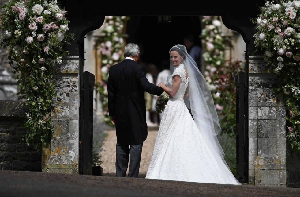 fotos: boda de pippa middelton con el empresario james matthews