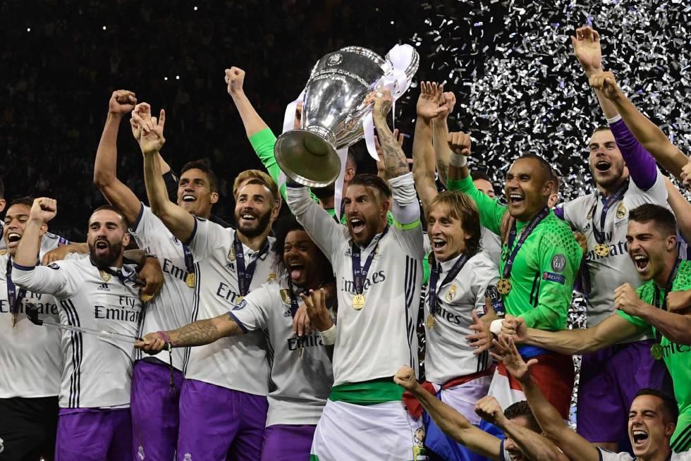 Resultado de imagen para real madrid campeon champions 2017