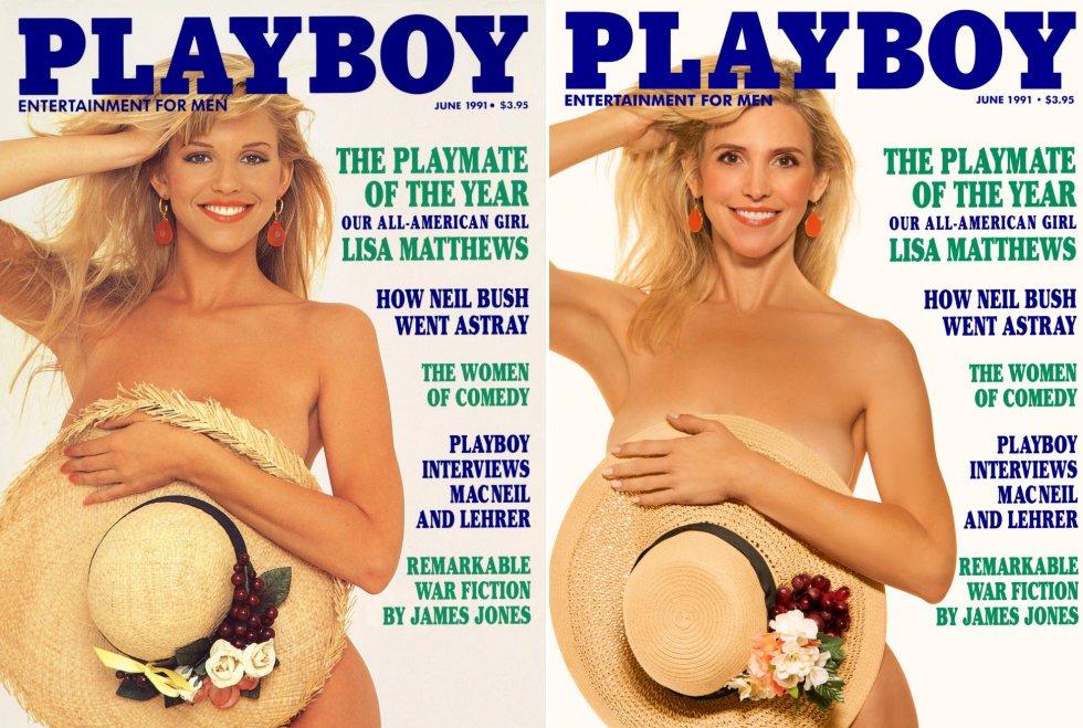 """Lisa Matthews foi eleita a 'coelhinha' do ano de 1991. """"Quando saiu minha primeira capa, me lembro de viajar e as pessoas me abordarem. Sempre diziam: """"Você é a Lisa, né? Acho que te vi em uma revista de circulação nacional'. E eu respondia: 'Ah, é? Qual?'. Porque queria que eles dissessem. Se tinham a cara de pau de se aproximar de mim para falar comigo, deviam ser capazes de dizer 'Playboy'"""", recorda. Um detalhe: o lugar mais inusitado onde essa situação se passou foi o Vaticano."""
