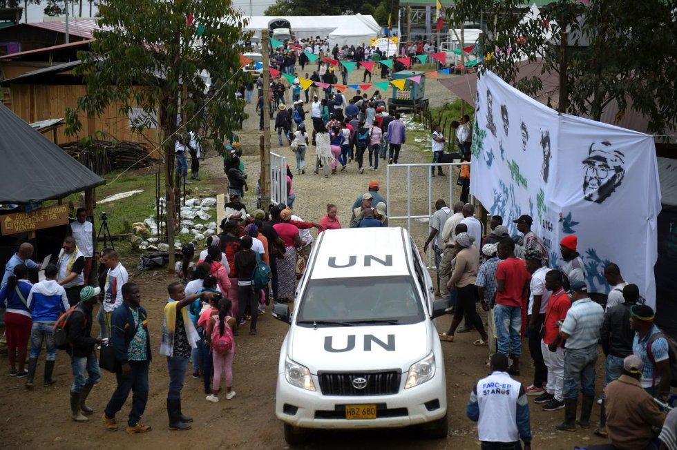 Fotos: Las FARC entregan las armas en Colombia   Internacional   EL PAÍS