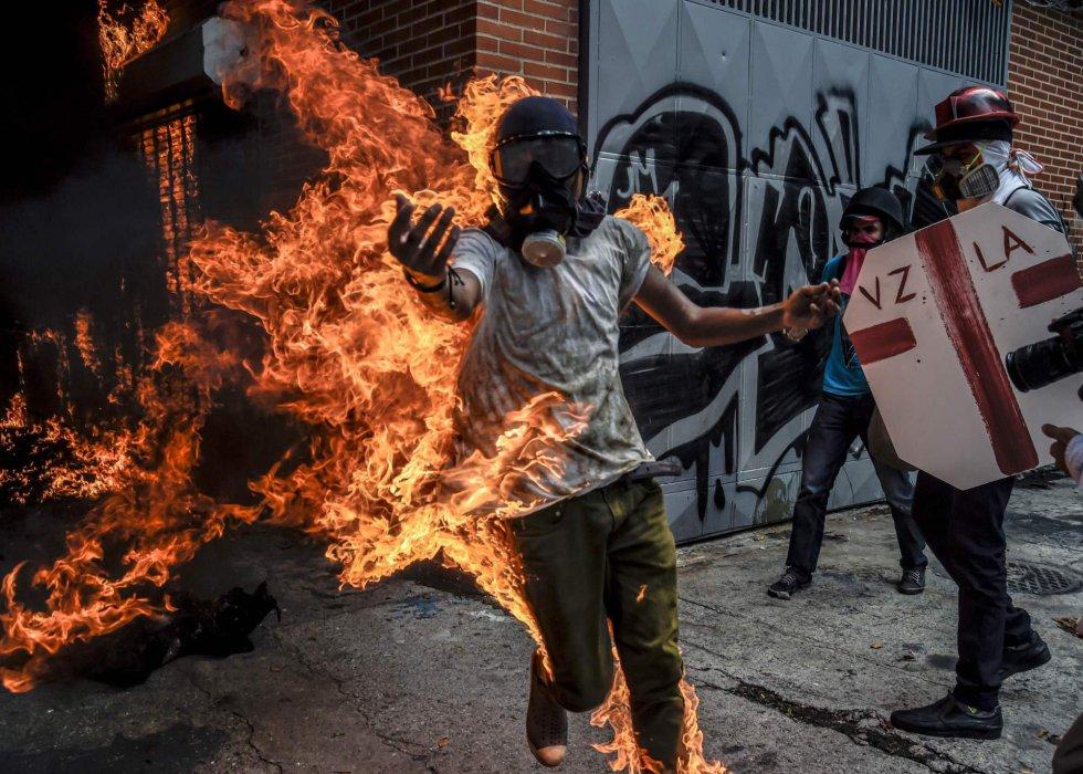 Resultado de imagen para protestas en venezuela