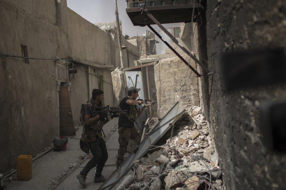 La reconquista de Mosul no pondrá tampoco fin a la guerra contra el EI, que controla todavía varias zonas en Irak y Siria.