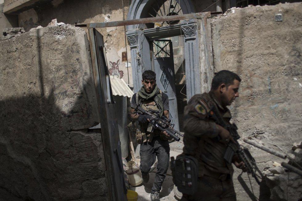 El pasado 19 de junio, las fuerzas iraquíes lanzaron la fase final de la ofensiva sobre el casco antiguo de Mosul, último reducto del ISIS en el interior de la ciudad, después de haber expulsado a los radicales del resto de barrios en los pasados meses.