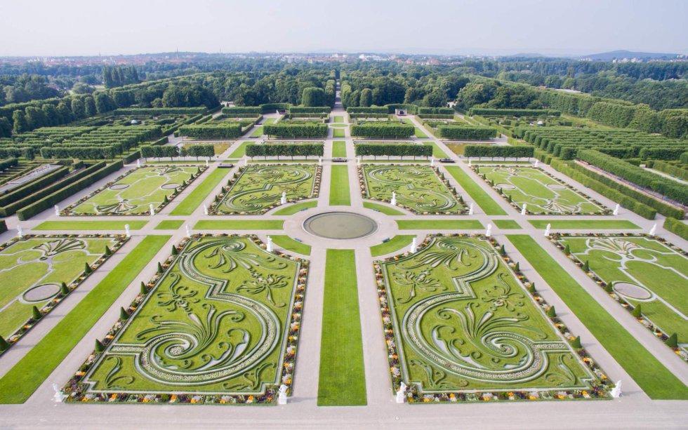 Fotos El Jardín Großer Garten De Hannover Visto Desde Arriba