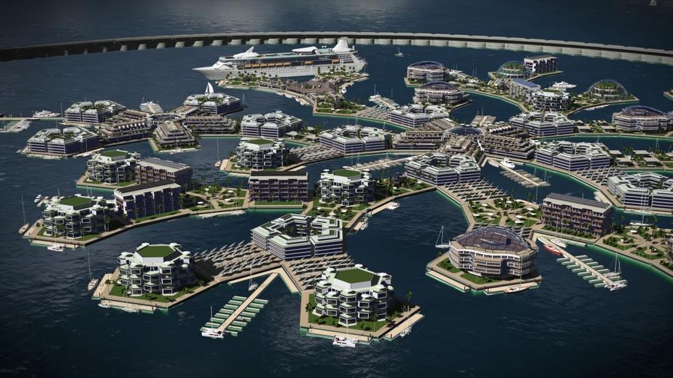 """Resultado de imagen de Ciudades flotantes"""""""