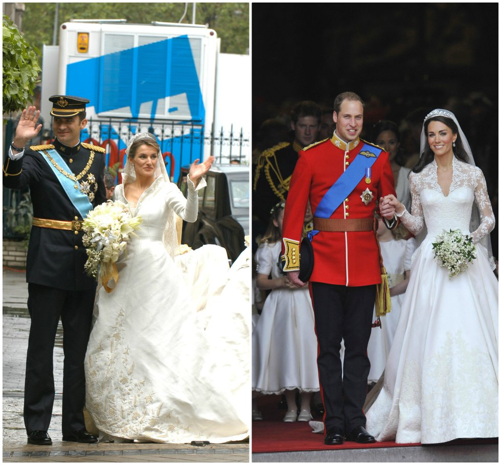 Fotos: Letizia Ortiz y Kate Middleton, duelo de estilo | Gente y ...
