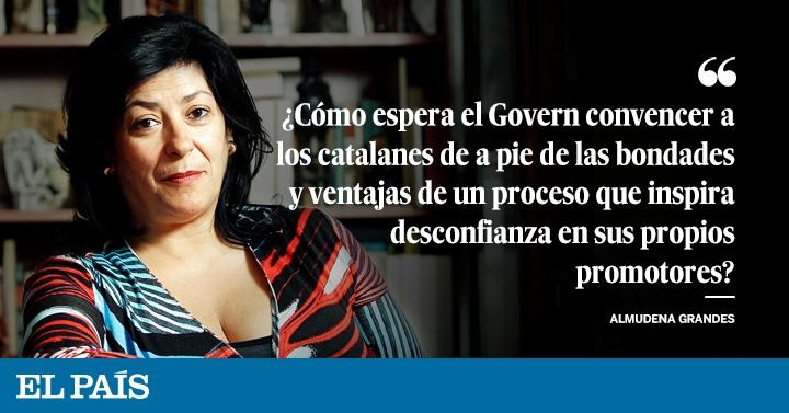 Cataluña 1 O Opinión El País