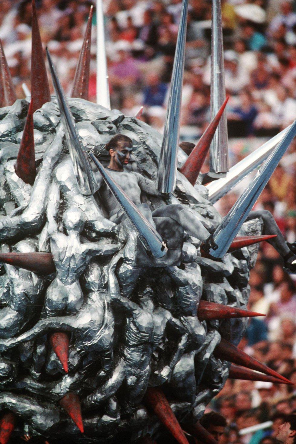 Así fue la inauguración de los Juegos Olímpicos de Barcelona 92