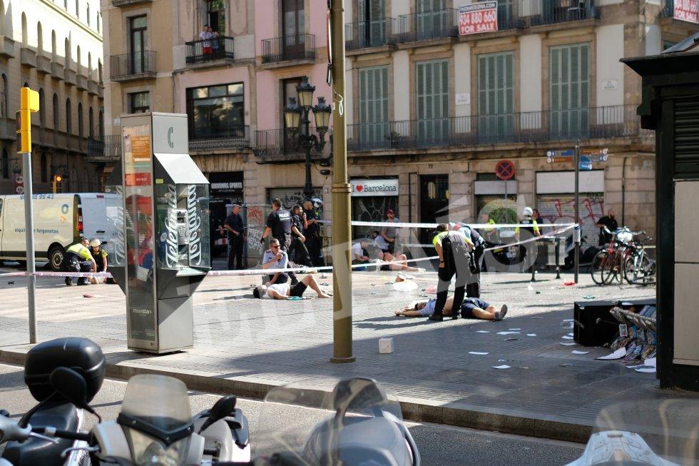 Resultado de imagen para atentado barcelona