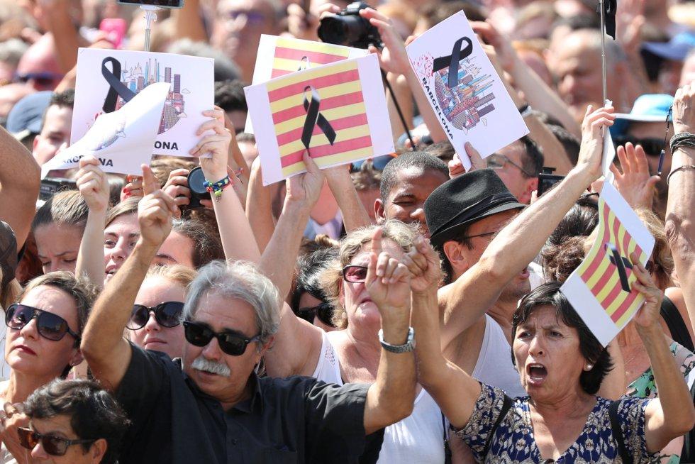 Resultado de imagen para Las víctimas del atentado en Barcelona