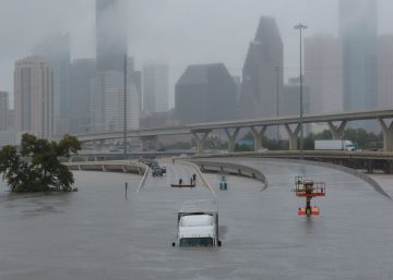 Houston bajo las aguas