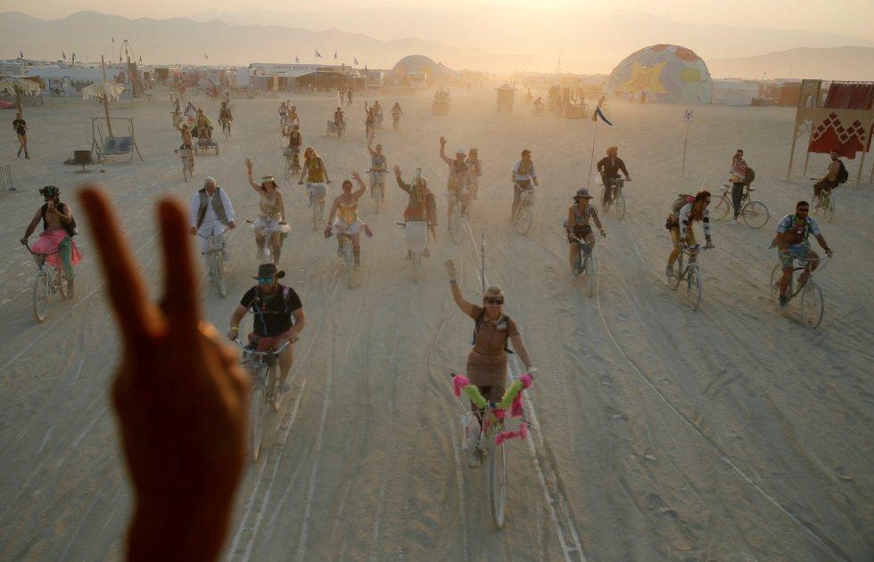 Fotos: El festival Burning Man echa el cierre   Cultura   EL PAÍS