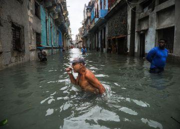 Inundaciones en Cuba por el paso del Huracán Irma, en imágenes