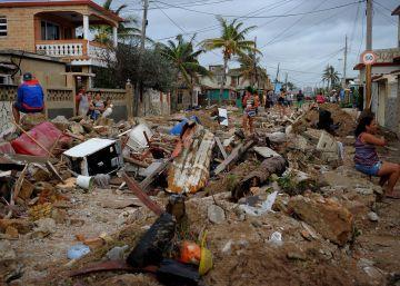 Desolación en el Caribe tras el paso del huracán Irma