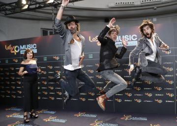 La alfombra roja de Los 40 Music Awards