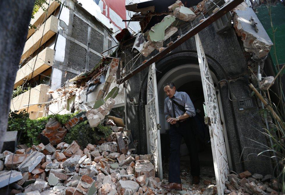 Fotos Sismo Los Efectos Del Terremoto De Mexico En Imagenes Internacional El Pais