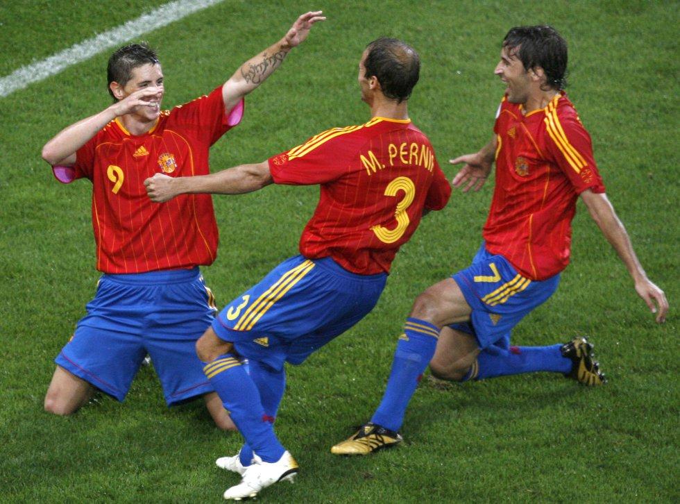 Fotos: *Cuánto ha cambiado la camiseta de la selección españ