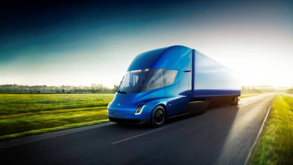 Tesla Semi, el primer camión eléctrico.