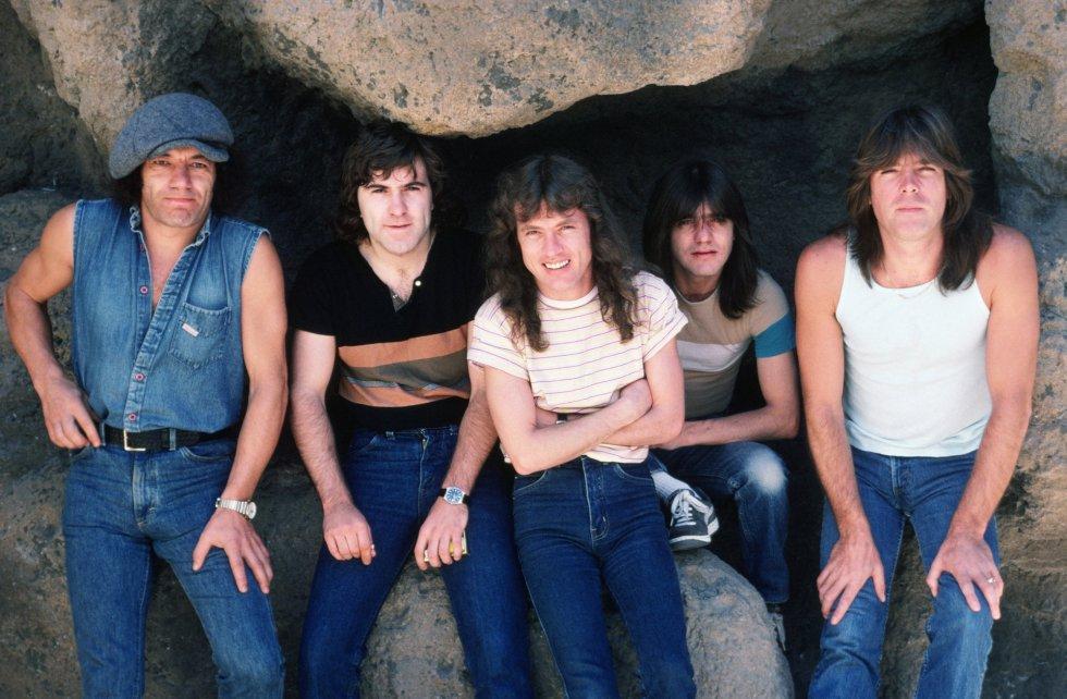 Fotos: Malcolm Young, las imágenes del cofundador de AC/DC   Cultura   EL  PAÍS