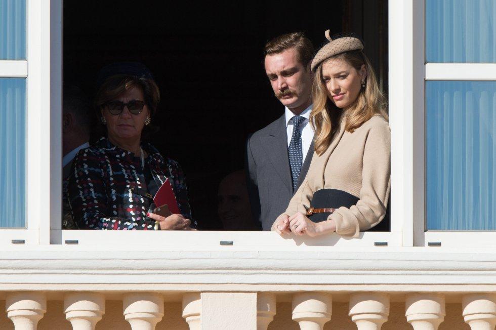 Pierre Casiraghi y su esposa Beatrice.